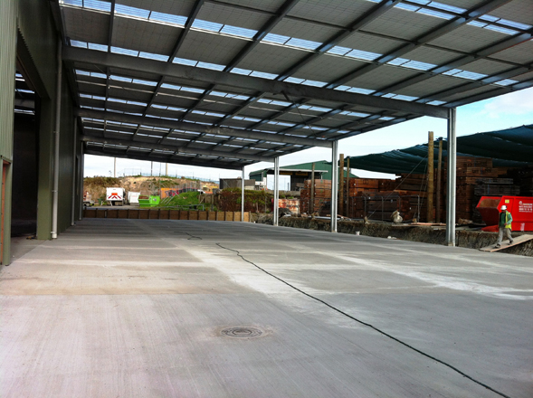 Hermpac - Timber Dry Store and Warehouse with Drive Through Canopy