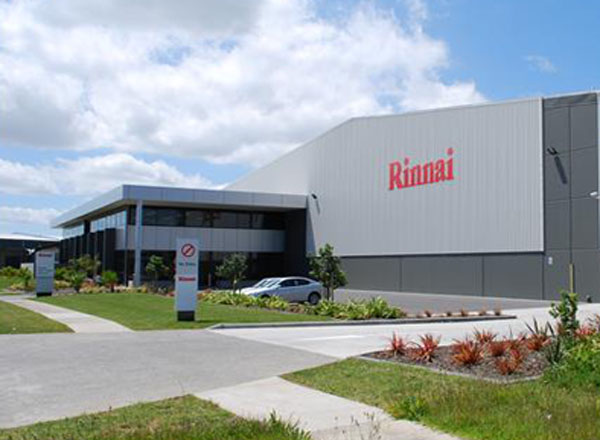 Rinnai NZ - a 10,000 m2 Headquarters with a focus on sustainable design
