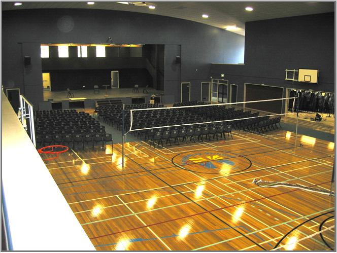 Kingsway School gymnasium/events centre