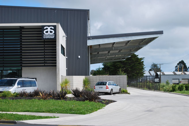 Indesco nz as colour warehouse design and construction for Warehouse building design